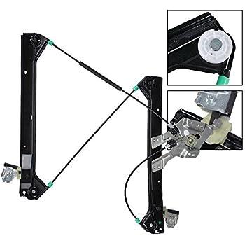 (xTune) Power Window Regulator (No Motor) Front Left For SAAB 9-3 03-07