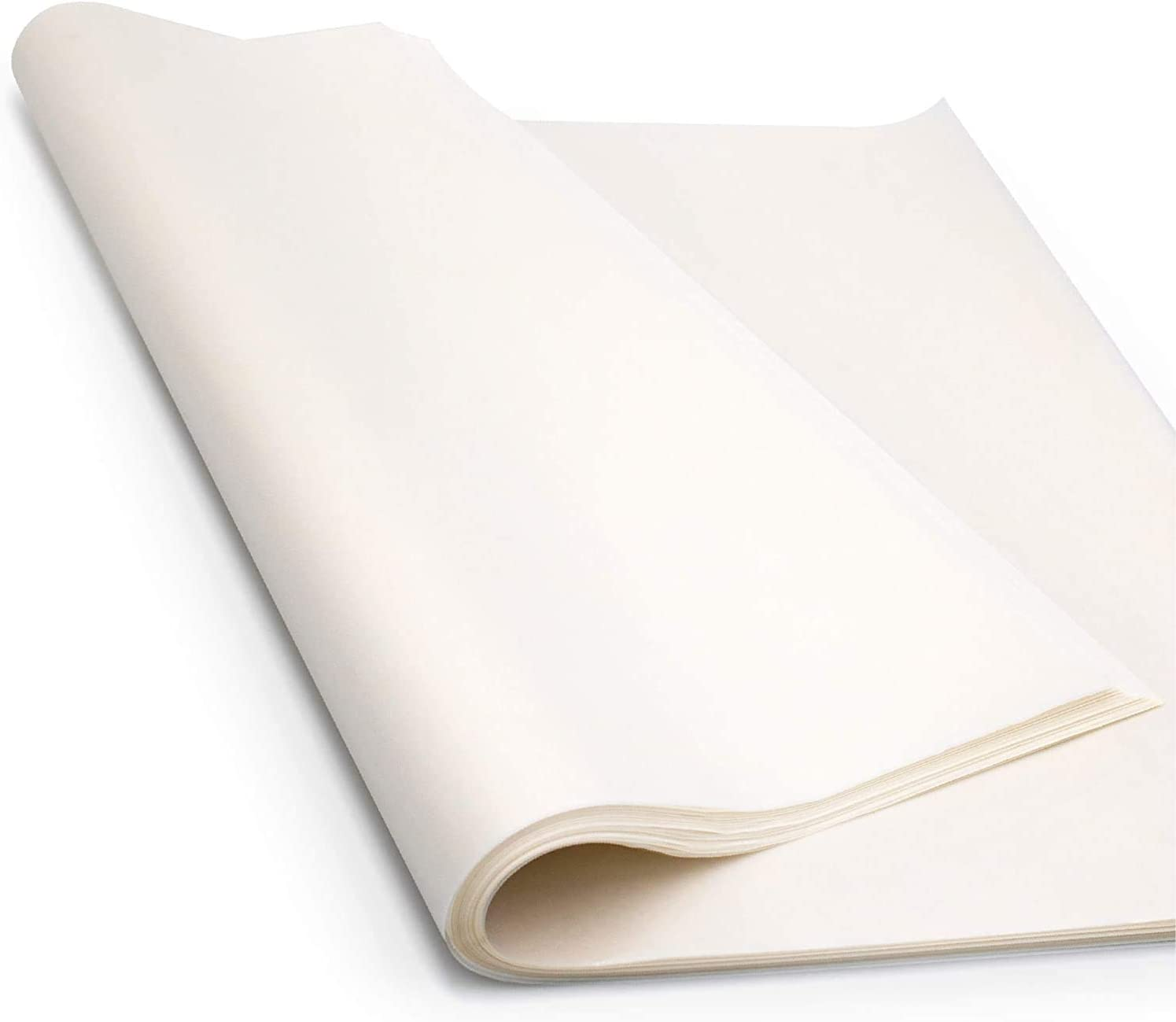 Glassine Paper Sheets (24 inches x 36 inches - 500 Sheets), Acid-Free with a Neutral PH for Protecting Documents, Drawing & Photographs by Paper Pros