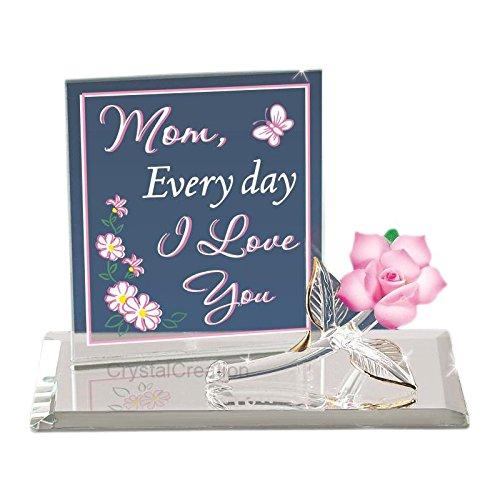 Glass Baron ~ Mom, Everyday I Love You Rose