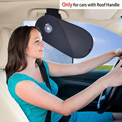 f Handle Sunshade Glare Reduction Plus Sun Protection for Driver and Passengers - for Ford, Chevrolet, Buick, Audi, BMW, Honda, Mazda, Nissan and Others ()