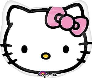 Globo Cabeza Hello Kitty