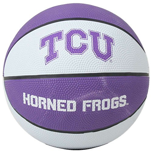 (TCU Horned Frogs Mini Rubber Basketball)