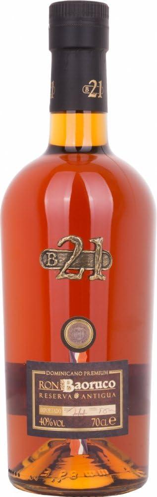 Baoruco 21 Years Rhum R.Dominicana 40% 70 cl