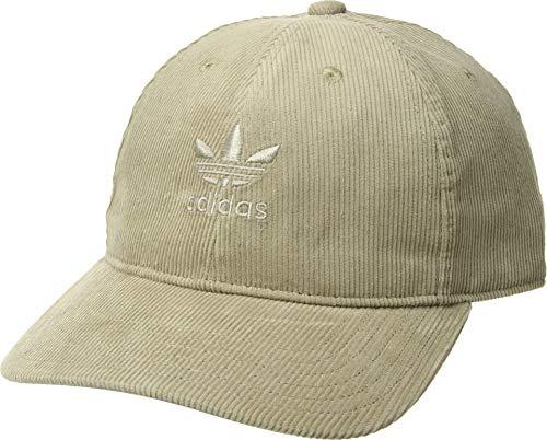 adidas Men's Originals Relaxed Corduroy Cap, ash silver/ash silver, One ()
