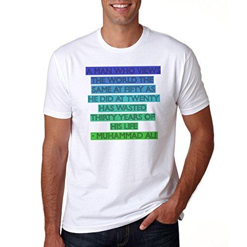 Muhammad Ali Quote Herren T-Shirt