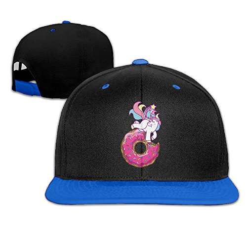 Unisex Unicorn Donut Cute Adjustable Baseball Hats Hip-Hop Caps One Size. (Halloween Chicken Fingers)