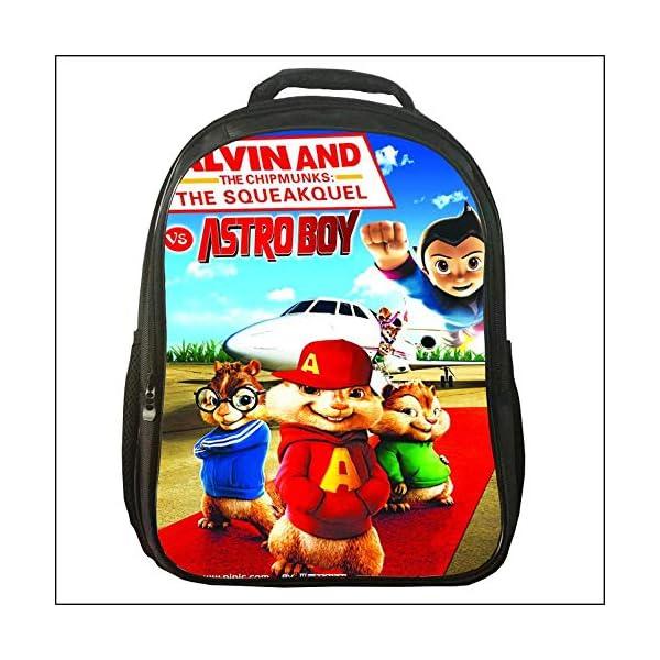 enorme sconto 99771 7565c YHJ backpack Zaino Scuola per Bambini - Alvin And The Chipmunks - Borsa per  Libri con Stampa Anime 3D Cartoon per Bambini di età Compresa tra 6 E 14 ...