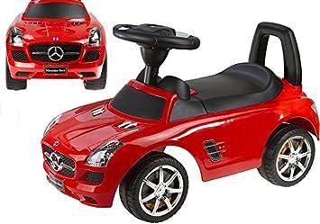 Mercedes Benz antideslizante Auto para bebés Rojo: Amazon.es: Juguetes y juegos