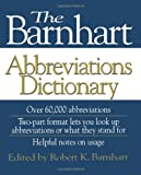 The Barnhart Abbreviations Dictionary, , 0471571466