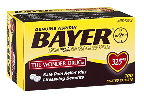 Price comparison product image Bayer 325mg Tabs Size 100ct Bayer 325mg Tabs 100ct Ea