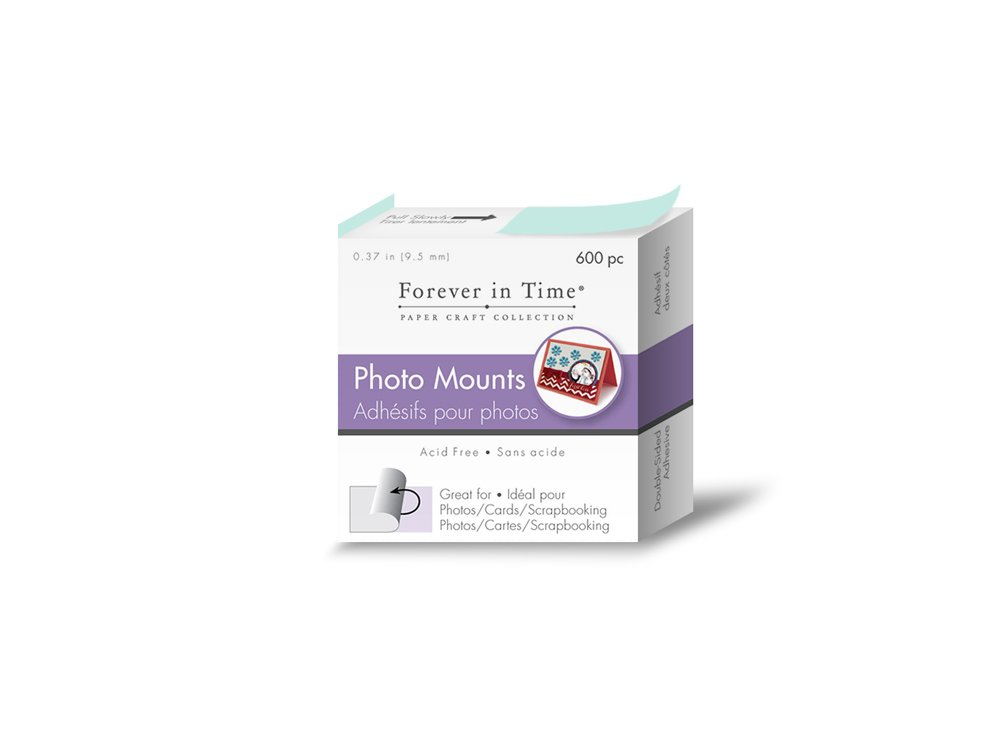 Forever In Time PC060 3//8-Inch Photo Mounting Squares