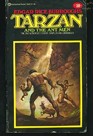 book cover of Tarzan and the Ant Men
