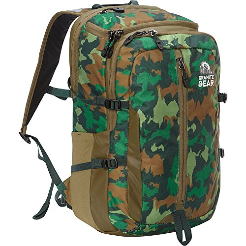 Granite Gear Splitrock Backpack (Hill Camo/Highland Peat/Boreal)
