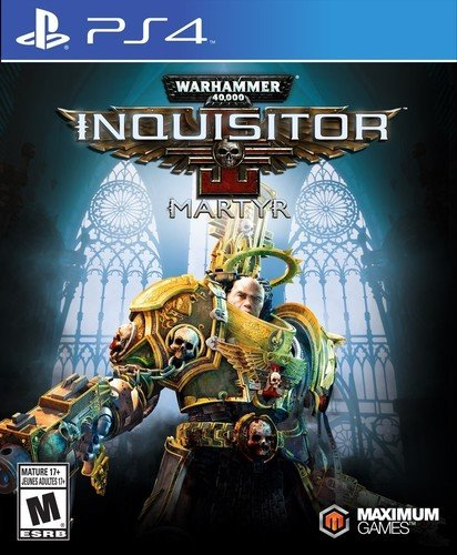 Warhammer 40,000: Inquisitor – Martyr – PlayStation 4