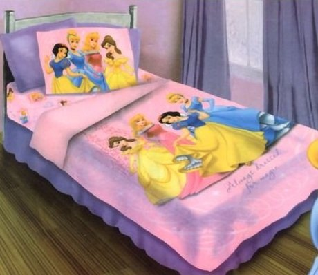Disney Princess 4-piece Twin Bedding Set by Princess