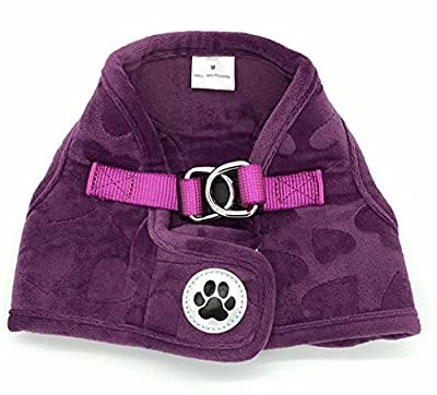 Fleece Soft Vest Harness No Pull Harness for Cat Dog Pet