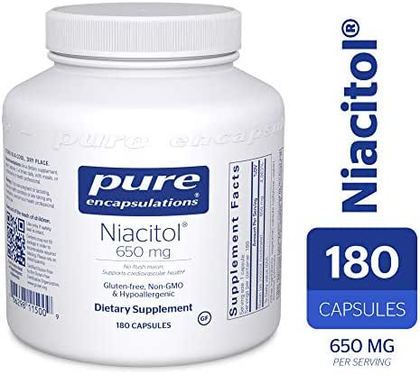 Pure Encapsulations - Niacitol 650mg 180 Capsules