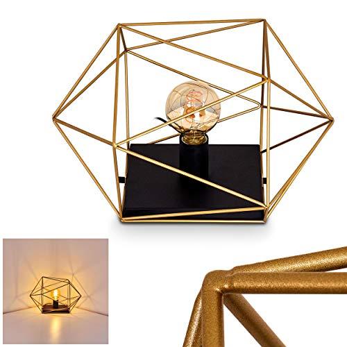 Babol bureaulamp metaal goud zwart modern tafellamp geometrische patronen wandlamp voor 1 x E27 max. 60 watt, geschikt…