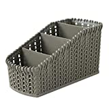 Hot!Ninasill Office Stationery Cosmetic Desktop Multi-Layer Storage Basket Convenience Durable Sundries Storage Basket