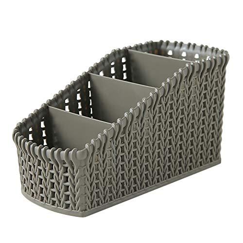 (Hot!Ninasill Office Stationery Cosmetic Desktop Multi-Layer Storage Basket Convenience Durable Sundries Storage Basket)