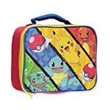 """Pokemon """"Monster Capture"""" Insulated Lunchbox - yellow/red, one size"""