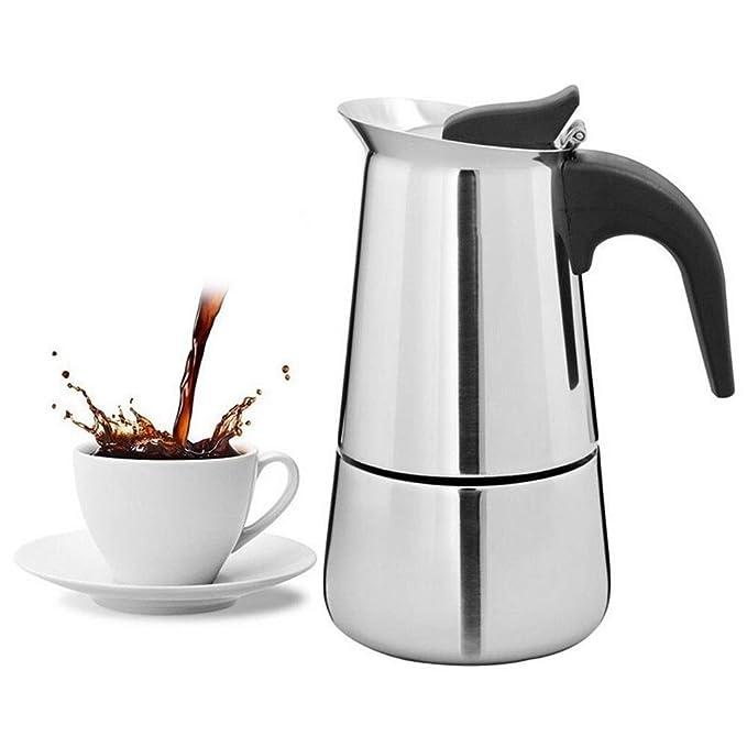 SJDY Cafetera 100/200 / 300 / 450ml Cafetera Espresso ...