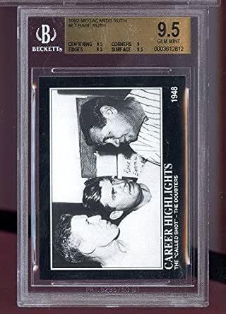 Amazon.com: 1992 Megacards Babe Ruth #87 Career Highlights ...