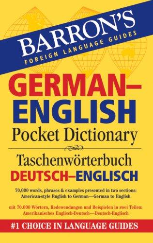 Barron's German-English Pocket Bilingual Dictionary (Barron's Pocket Bilingual Dictionaries)