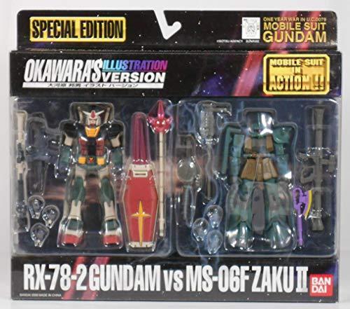 Mobile Suit Gundam: RX-78-2 Gundam vs. MS-06F ZAKU II - Okawara's Illustrated Version