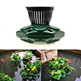Aquaponics Floating Pond Planter Basket Kit - Hydroponic Island Gardens Features by Aquarium Supplies