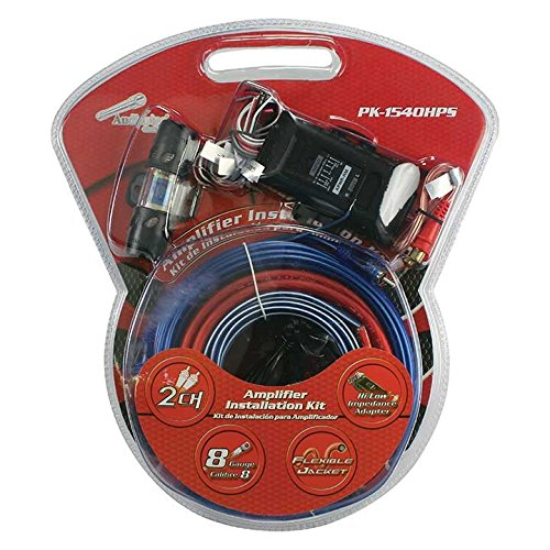 Line Out Converter Wiring Installation Car Amp Wire Kit ()