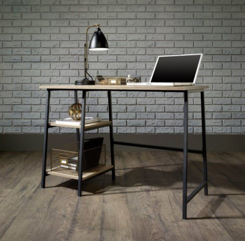 Vintage Industrial Desk Rustic Writing Furniture Office