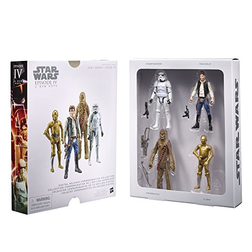 STAR WARS Digital Release Commemorative Collection Box Set -