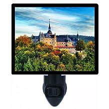 Night Light - Lauenstein Castle - Germany - Fall / Autumn LED NIGHT LIGHT