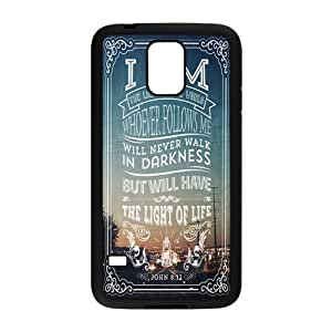 Bible Verse Rubber Back Fits Cover Case for Samsung Galaxy S5
