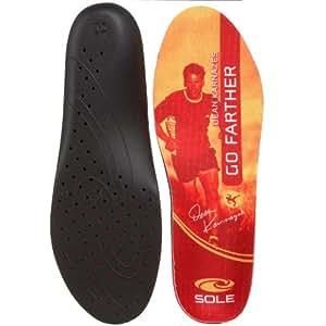 SOLE Signature DK Response Footbeds, Orange, 7 M US