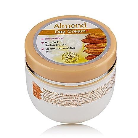 Crema de dia hidratante almendra para piel seca y sensible: Amazon.es: Belleza