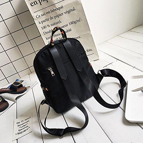 Frau Europäische Und Amerikanische Mode-Bänder Minimalistische Trend Rucksack Umhängetasche