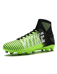 VITIKE Kids Soccer Cleats Boys Youth Cleats Football Boots High-top Cleats for Soccer