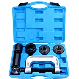 8milelake 4 in1 Ball Joint Service Auto Tool Kit 2WD & 4WD Car Repair Remover Installer