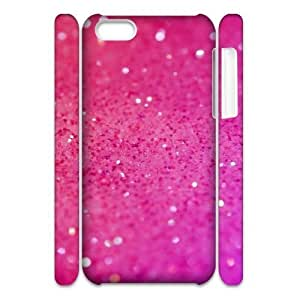 LJF phone case Silver Bling Brand New 3D Cover Case for Iphone 5C,diy case cover ygtg593479