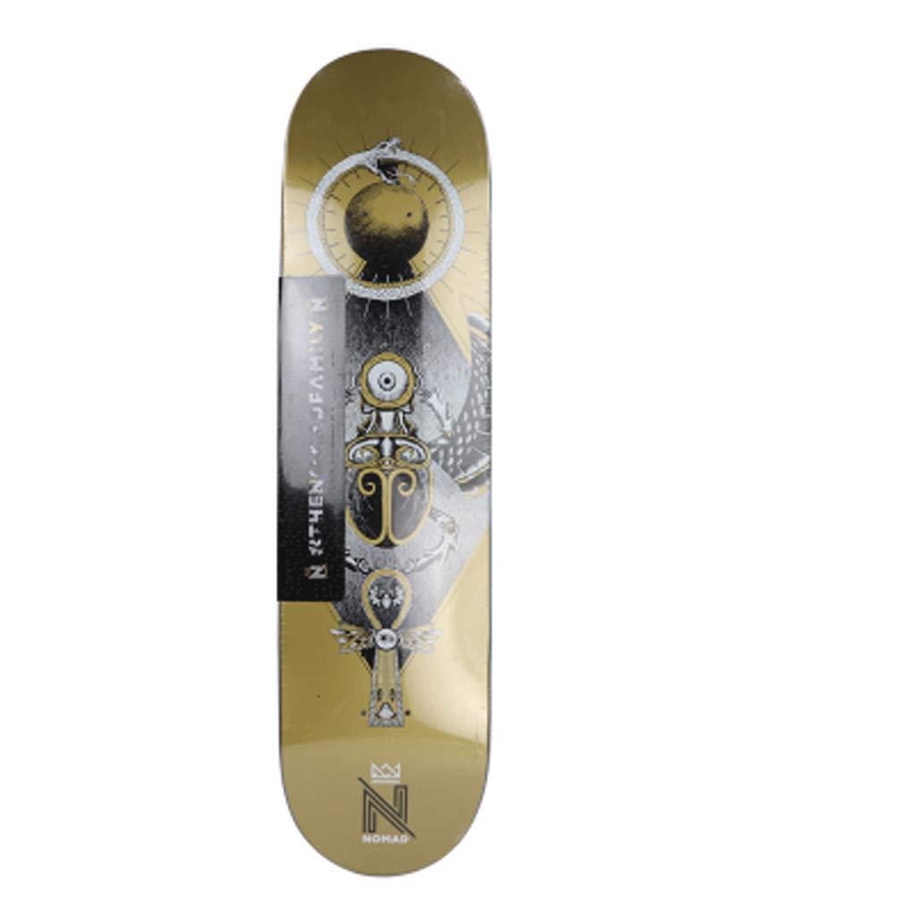 Kurzes Brett-Skateboard-Brett Professionelles Brett-Skateboard-Brett mit mit mit bilateral geneigtem Schleifbrett-Brett B07Q17H8ZJ Longboards Schönes Design 05bb75