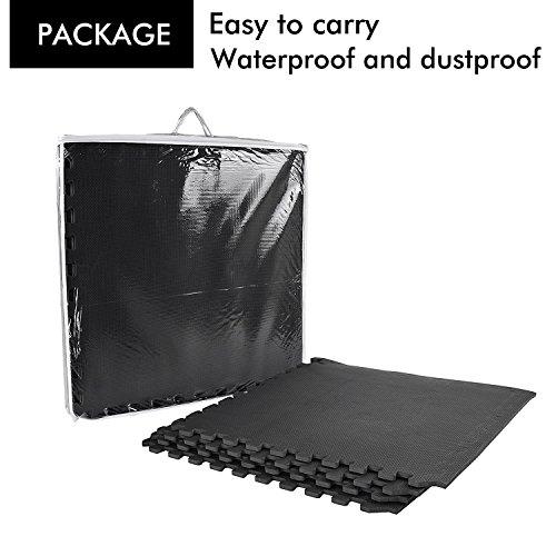 Proiron Interlocking Floor Mat Protective Mats Floor