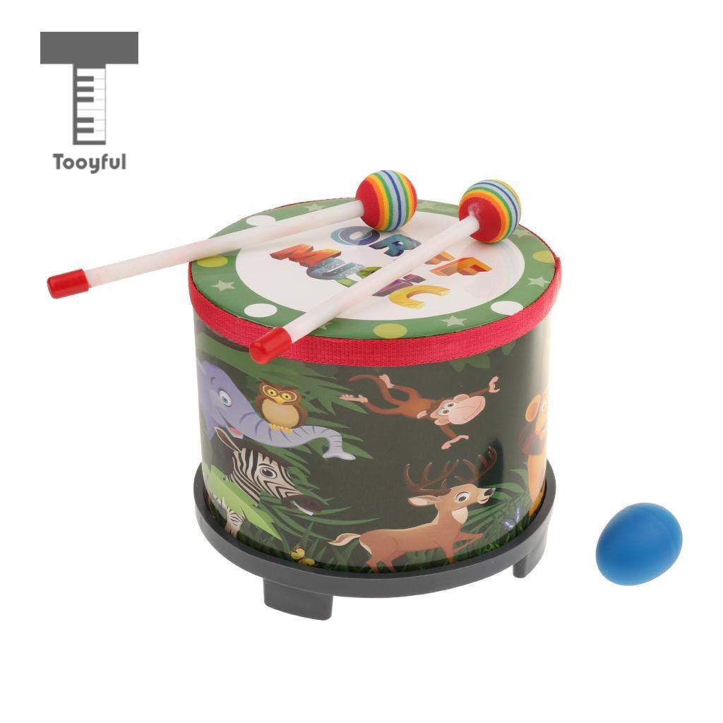Amazon.com: Value-5-Star - Musical Toy Drum w/Drum Mallets ...