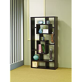 Coaster fine furniture 800264 contemporary for Amazon small bookshelf