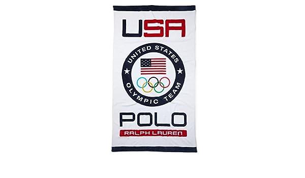 Ralph Lauren Polo del Equipo de Estados Unidos Playa Towel- Toalla ...