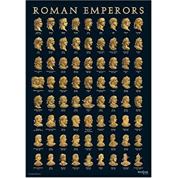 Roman emperors poster a3 size by westair - Porta poster amazon ...
