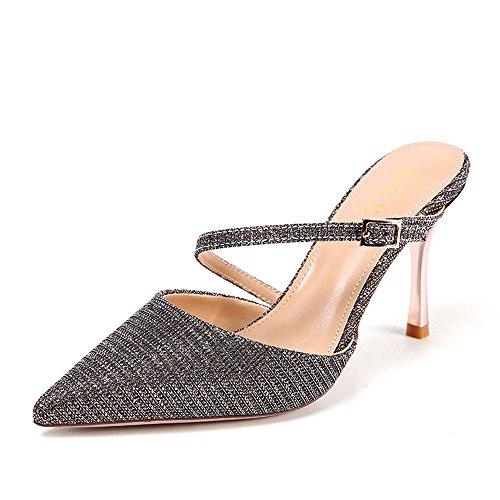 Mujerwomen Shoesveranobaotou De Una Kphy Palabra Zapatos 70Off 3Rj54LqA