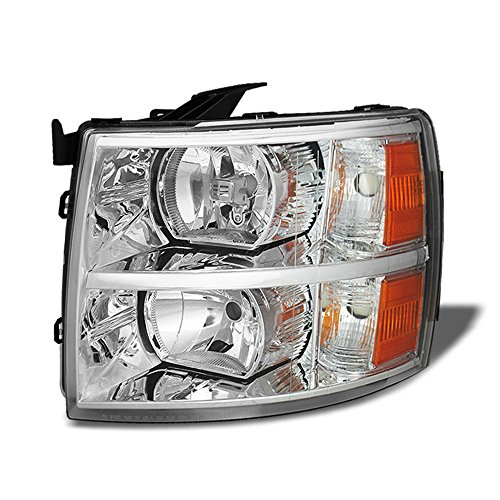 ACANII - For 2007-2013 Chevy Silverado 1500 2500HD 3500HD Replacement Headlight Headlamp - Driver Side Only