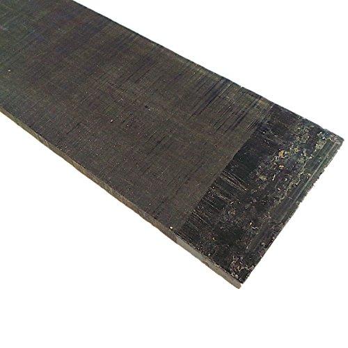 Bass Fretboard Blank - Ebony - 720x105x9 mm. by Guitar tools USA